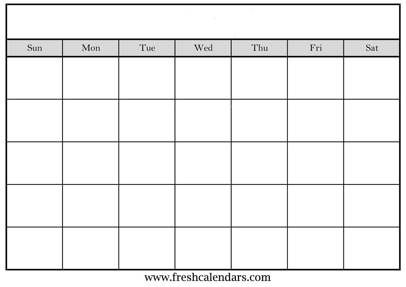 Blank Calendar: Wonderfully Printable 2019 Templates pertaining to Fill In Calendar Template Printable