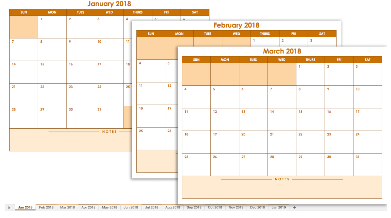 Blank Calendar: Wonderfully Printable 2019 Templates throughout Blank Monthly Calendar With Lines