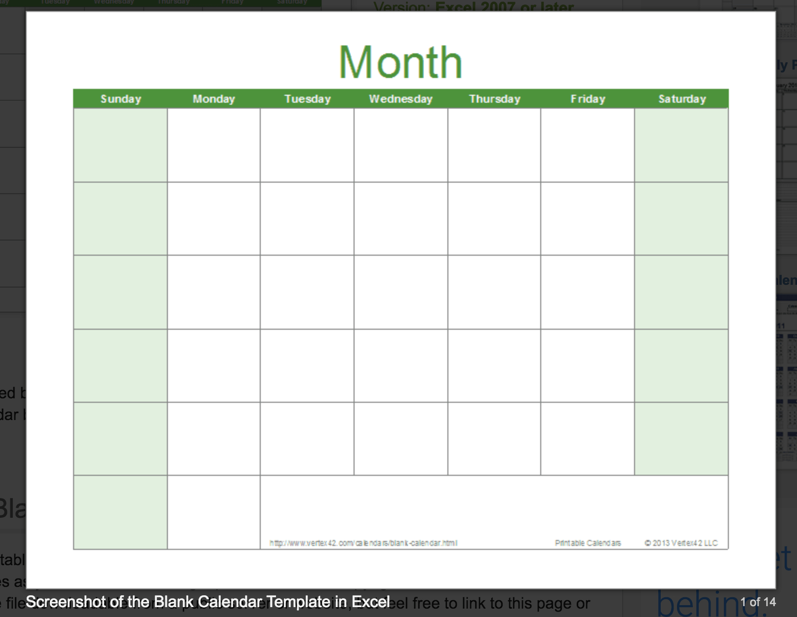 Blank Calendar: Wonderfully Printable 2019 Templates throughout Free Blank Monthly Planner Templates