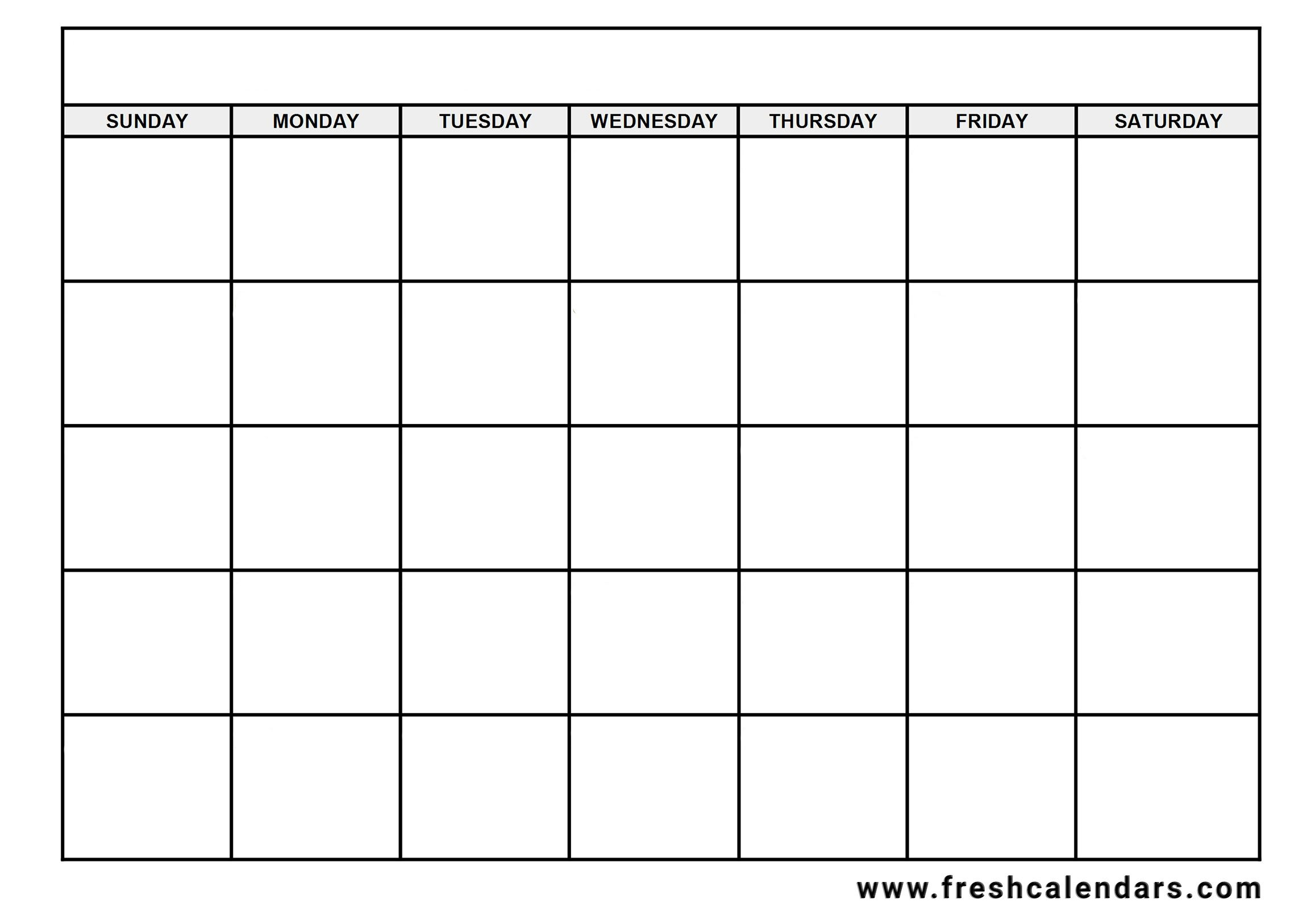 Blank Calendar: Wonderfully Printable 2019 Templates throughout Need A Blank Calendar With Lines