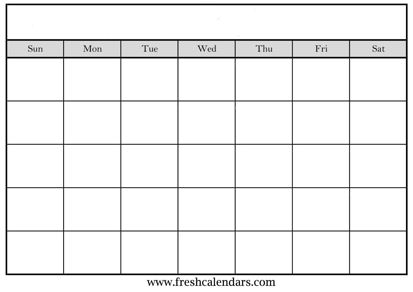 Blank Calendar: Wonderfully Printable 2019 Templates with Blank Calendar To Fill In