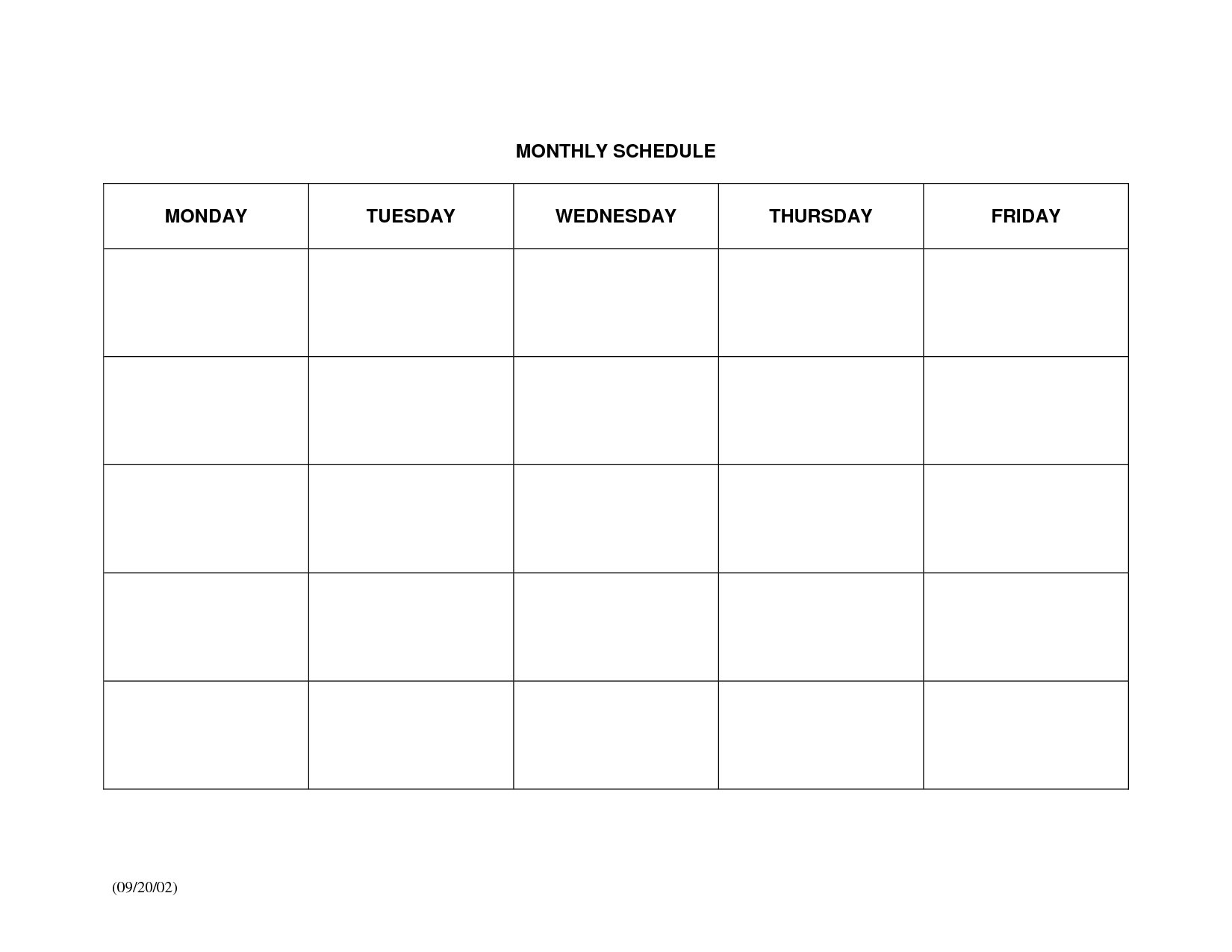 Blank Chart Template For Teachers Generation Blank Chart Template intended for Blank Calendar Chart For Classrooms