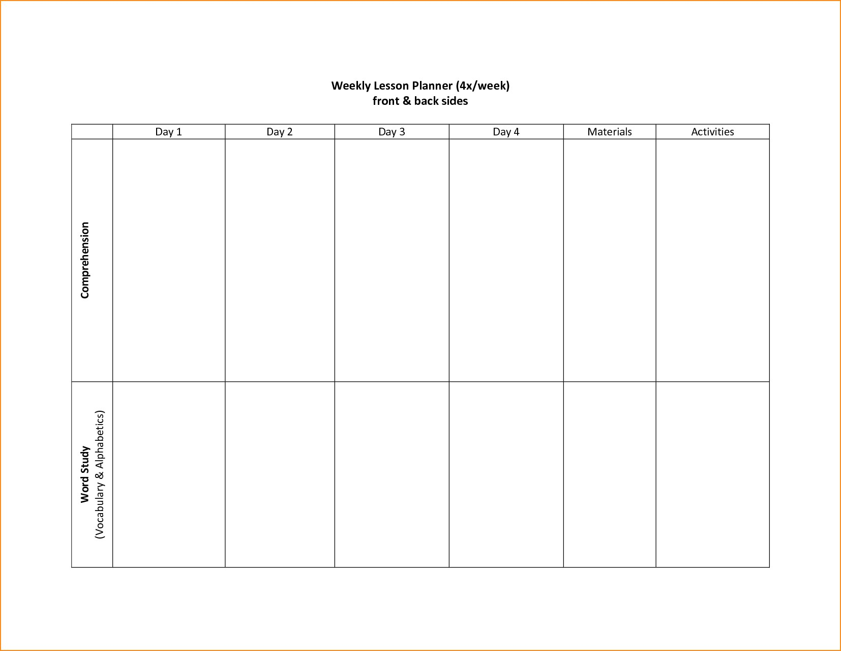 Blank Week Calendar Template Free Two Printable | Smorad within Printable 2 Week Calendar Template