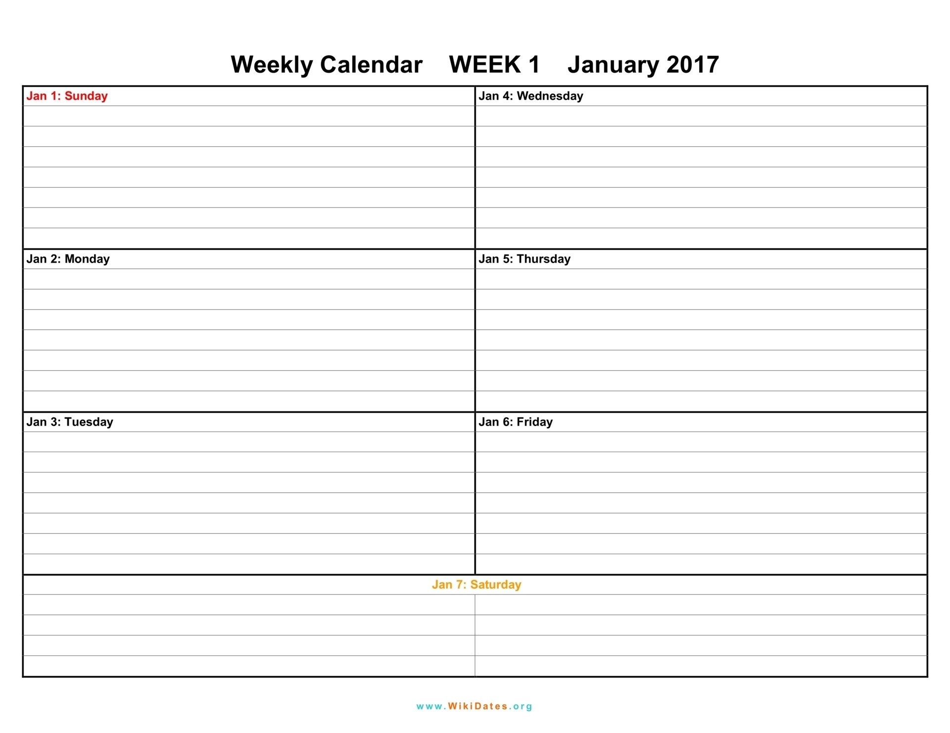 Blank Weekly Calendar Template With Times Time Slots Downloadable intended for Weekly Calendar Template With Minute Time Slots