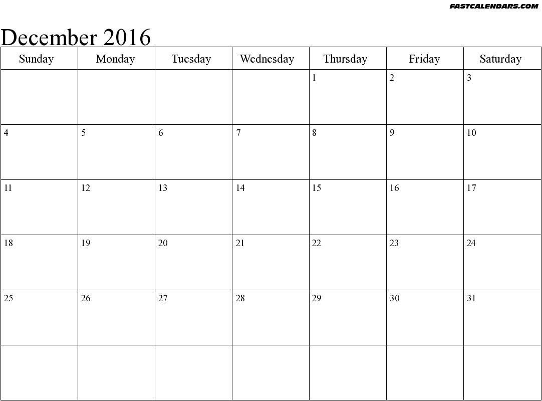 Blank Writable Calendar Template 2018 Large December 2018 Calendar pertaining to Blank Writable Calendar Template Large December Calendar Com