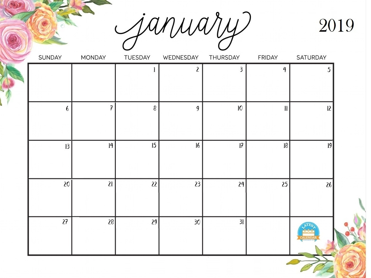 Blanket Calender Printables For January 2019 | Template Calendar pertaining to Blanket Calender Printables For December