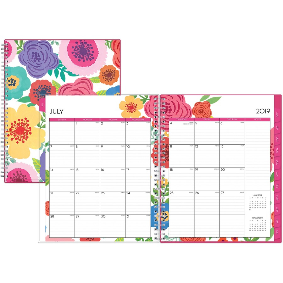 Blue Sky Mahalo Cyo 8.5 X 11 Weekly/monthly Planner - Yes - Weekly within 8.5 X 11 Calander Filler For 2020