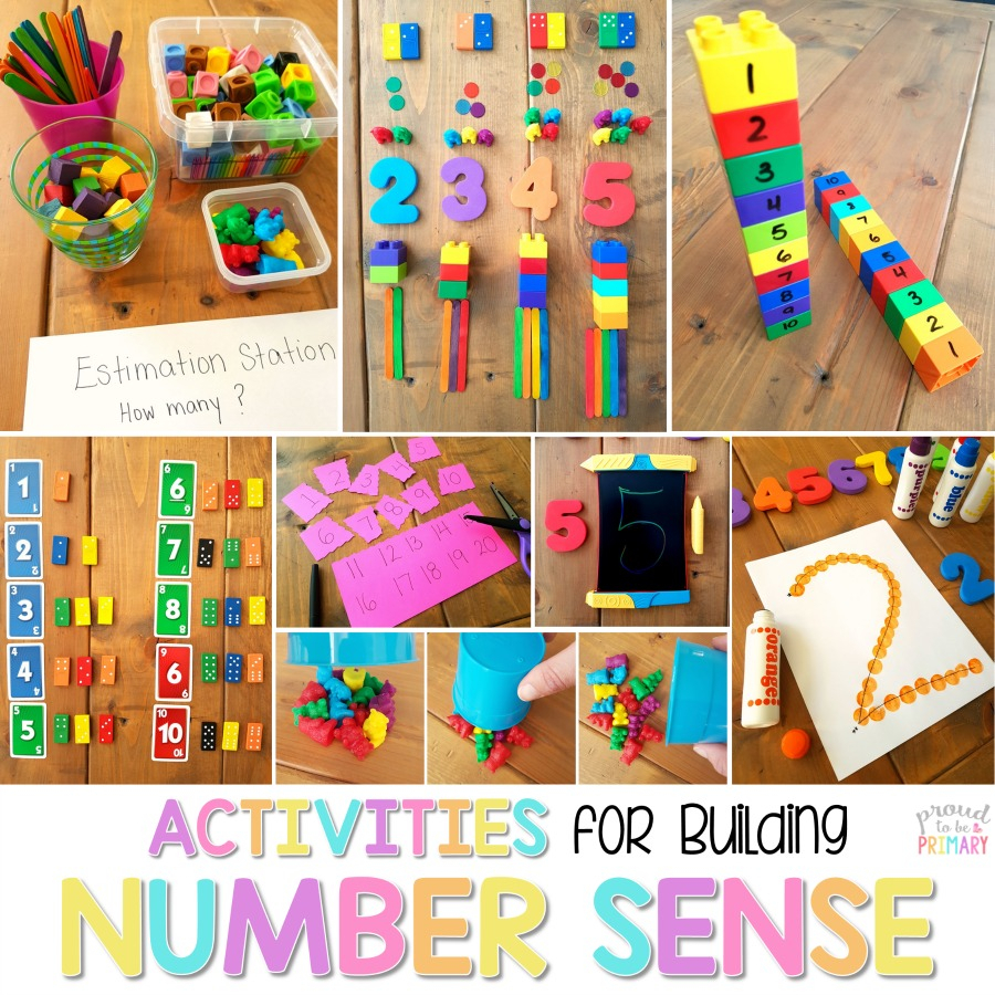Building Number Sense To 20: What All Teachers Ought To Know in Number Ten Template For First Grade