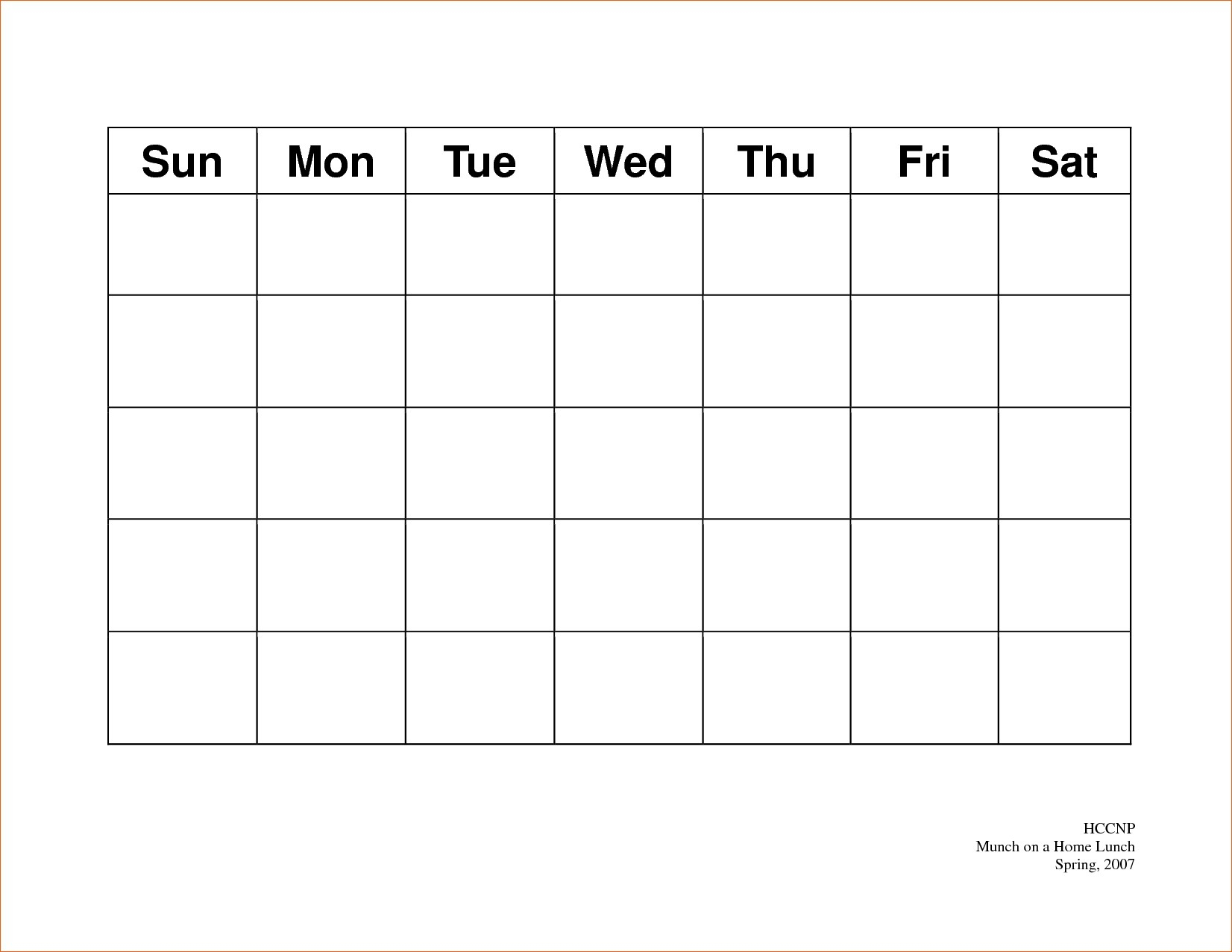 Calendar 5 Day Weekly Calendar Template On 5 Week Calendar Template in 5 Day Calendar Template Free