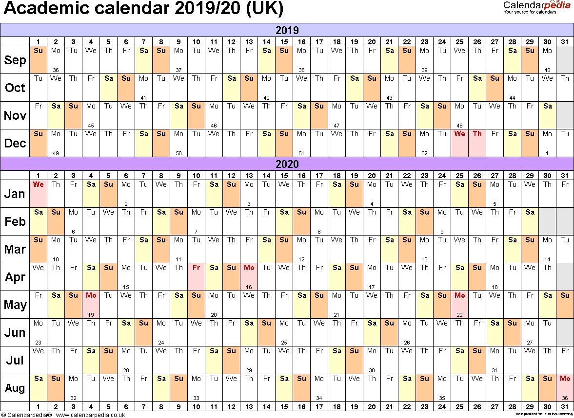 Calendar July 2019 To June 2020 | Template Calendar Printable in Free Calendar July 2019-June 2020
