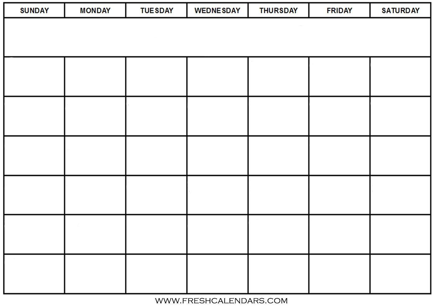 Calendar Template Free Printable Blank Calendar Wonderfully throughout Free Printable Blank Calendar Templates