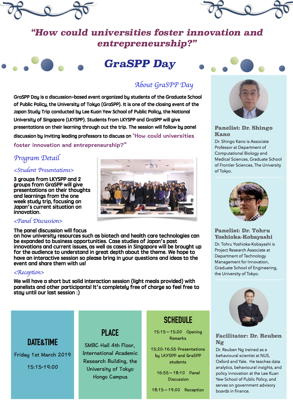 Call For Participants】Lky-Graspp Day 2019 | Graspp for Nus 2019 2020 Academic Calendar