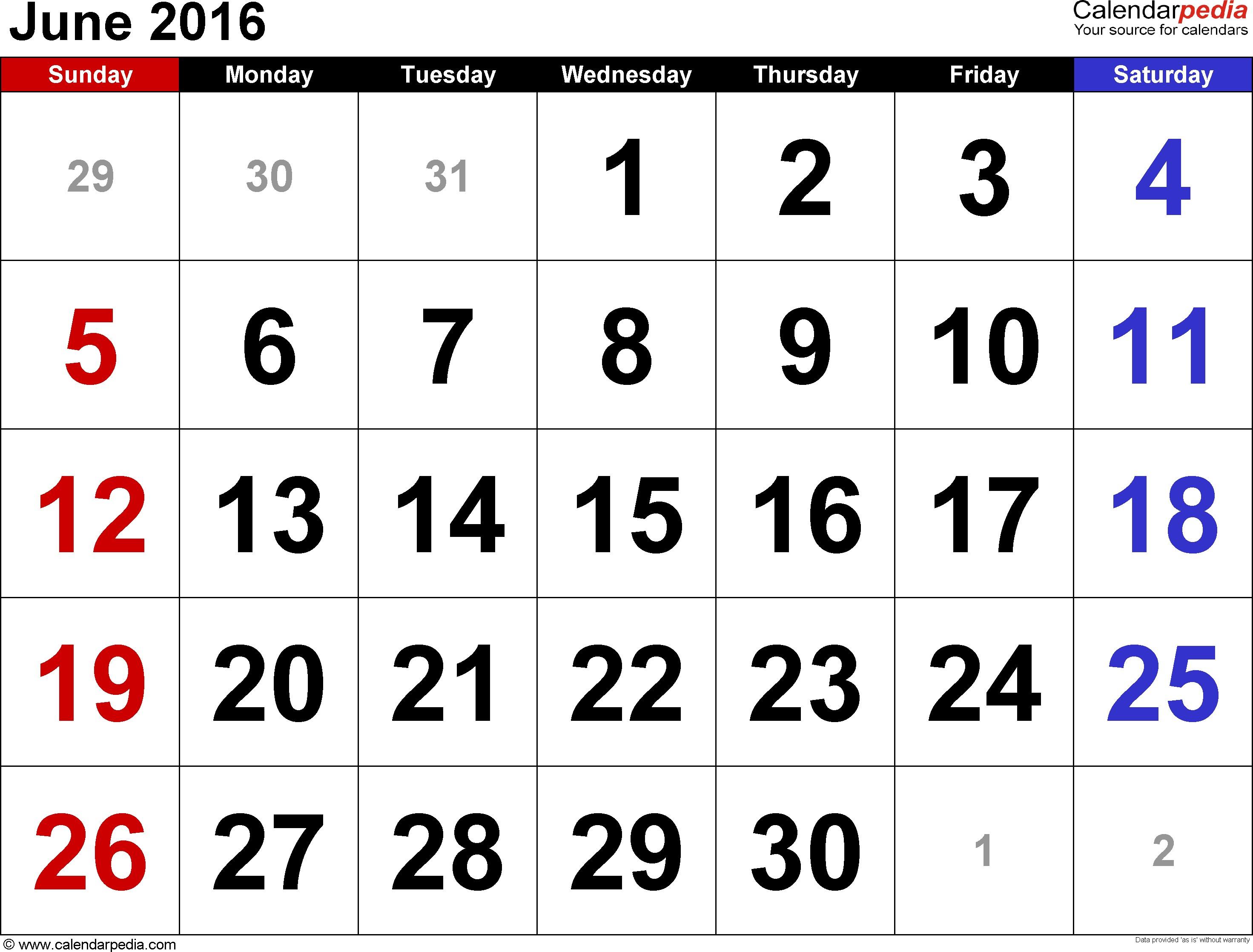 Category: Calendar 5 | Thekpark-Hadong with Calendar June Template Australia