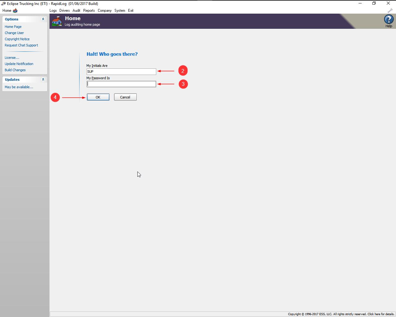 Change User In Rapidlog – Rapidlog for Blank My Account Information Logs