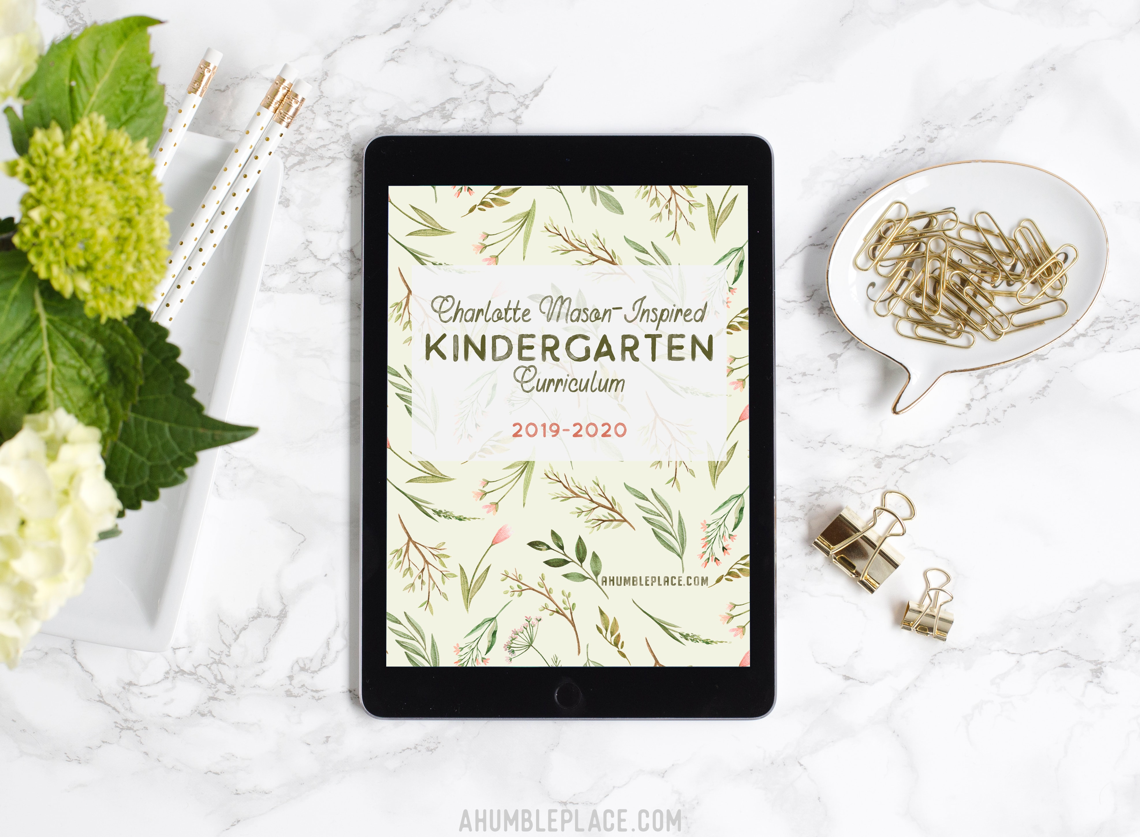 Charlotte Mason-Inspired Kindergarten Curriculum (Free Booklist with regard to Homeschool Year At A Glance 2019-2020 Botanical Calendar Printable Free