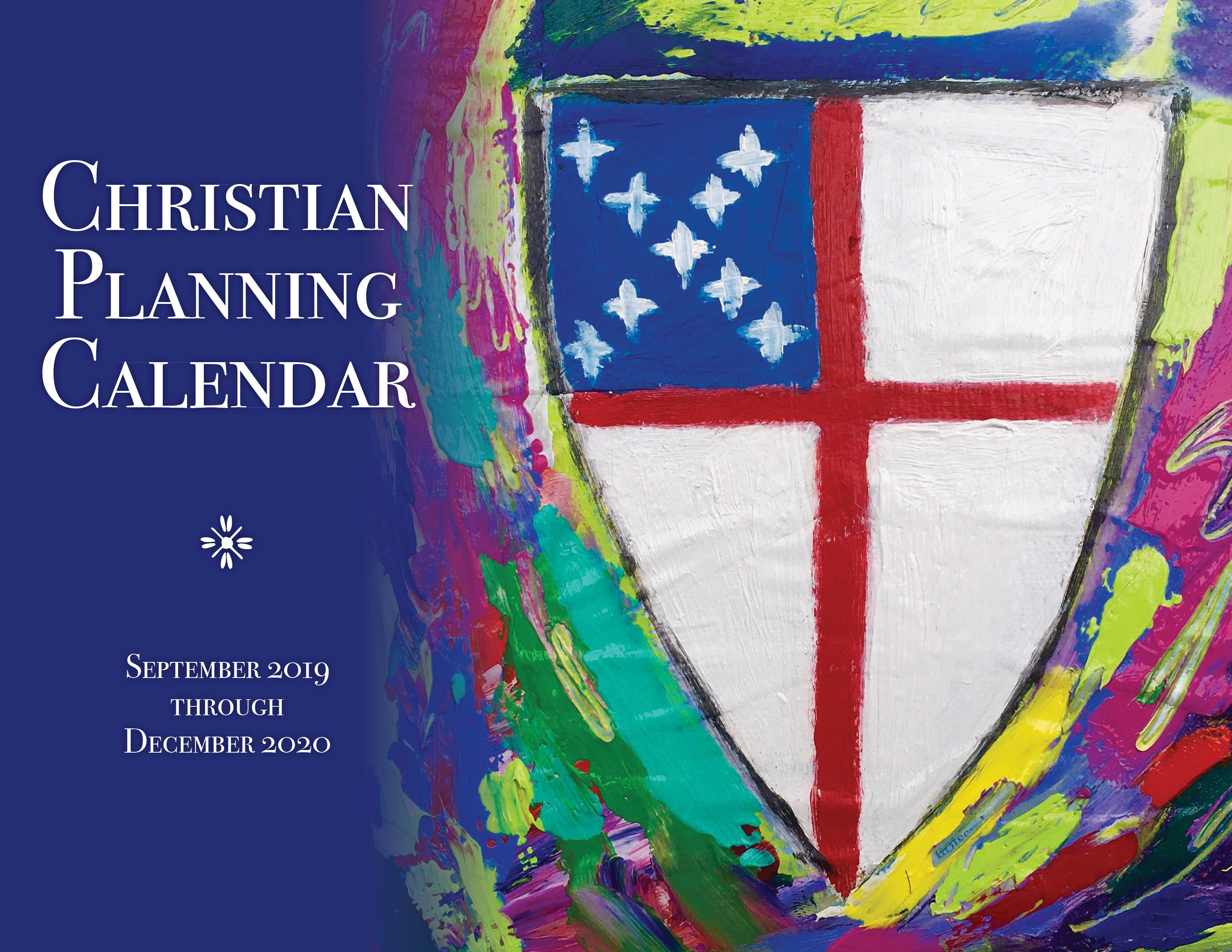Churchpublishing: Christian Planning Calendar 2019-2020 with regard to Catholic Liturgical Calendar Year C 2019-2020