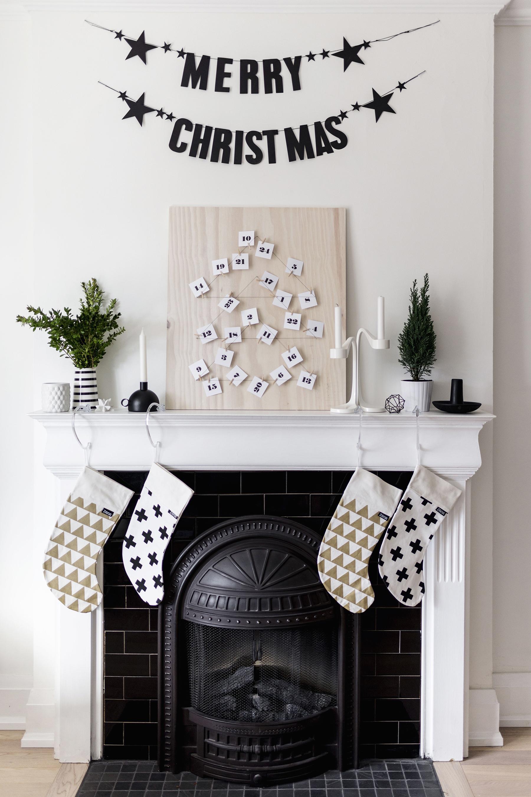 Diy Modern, Scandinavian Advent Calendar With Free Printable | Happy regarding Free Printable Blank Advent Activities List Minimal