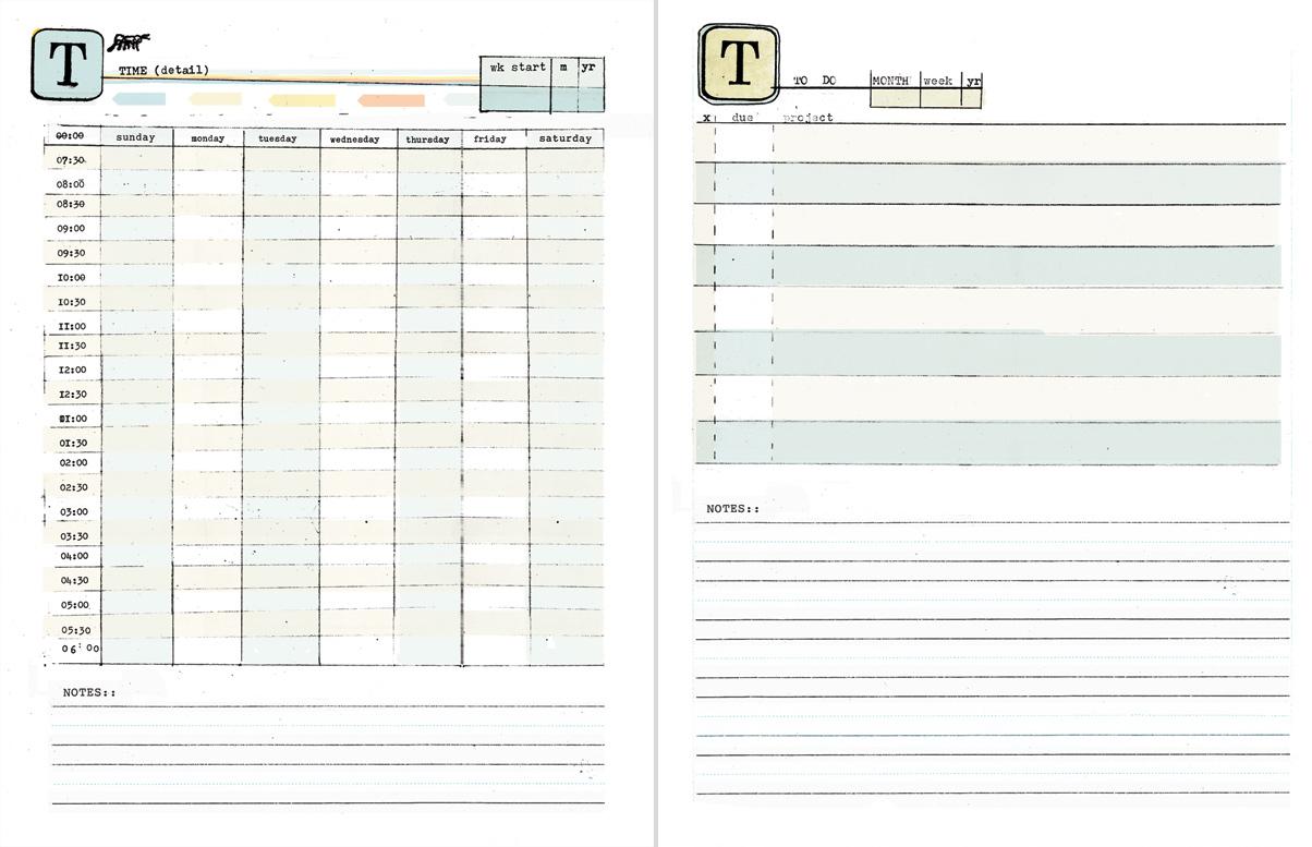 Diy Printable Planner Templates, 2019 | Amanda Hawkins | Ahhh Design for Doodle Monthly Planner Printer Templates