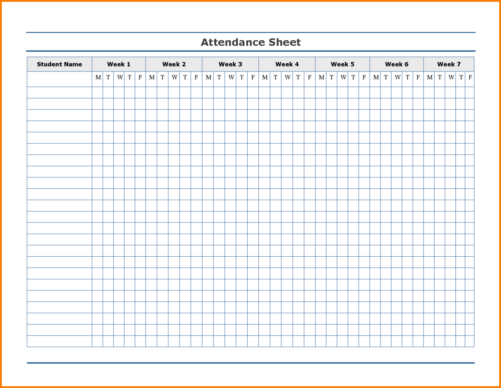 Employee Attendance Excel Sheet | Employee Attendance Sheet within Printable Employee Attendance Calendar Template
