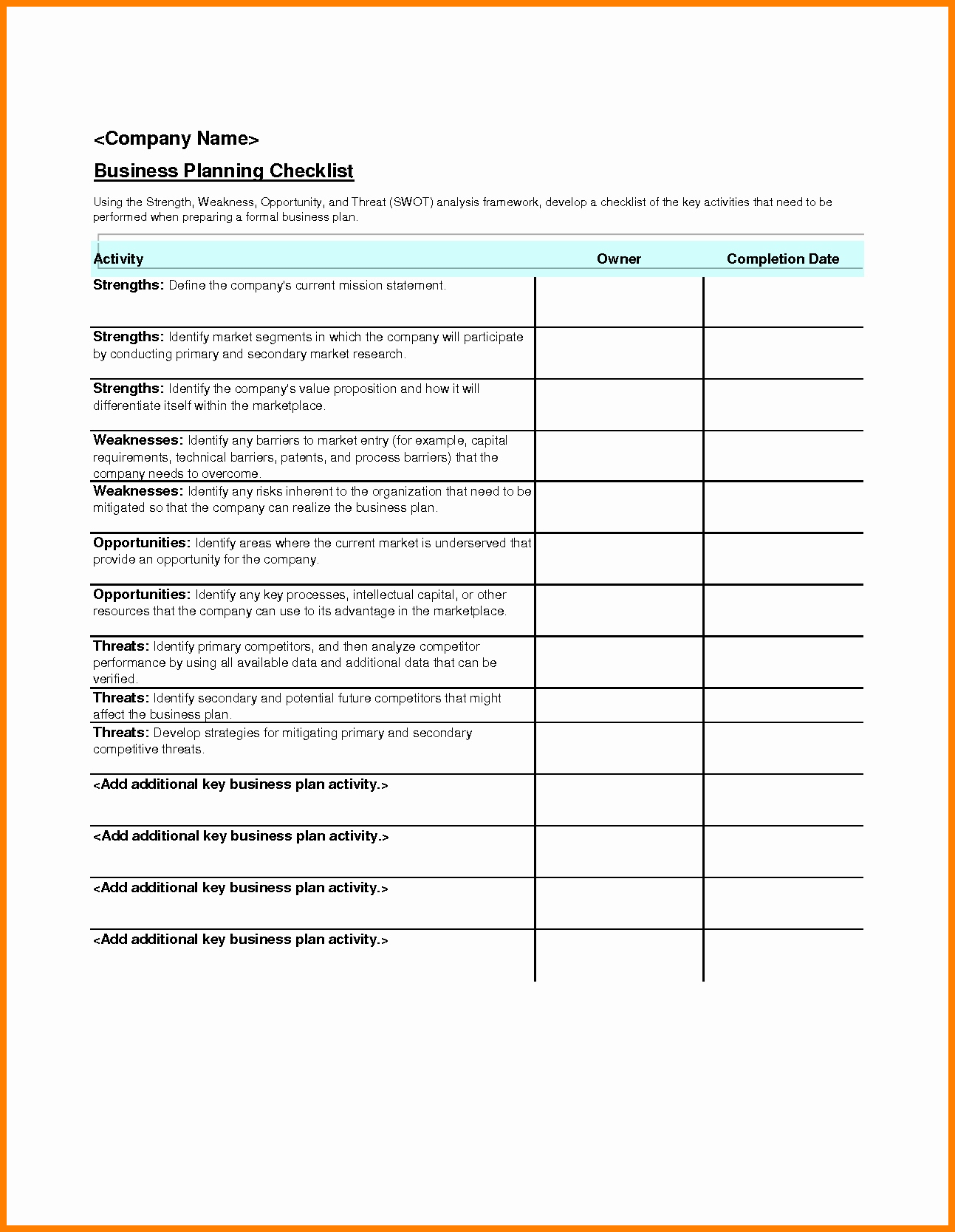 Event Checklist Template Excel Free - Infer.ifreezer.co regarding Event Guest List Template Excel