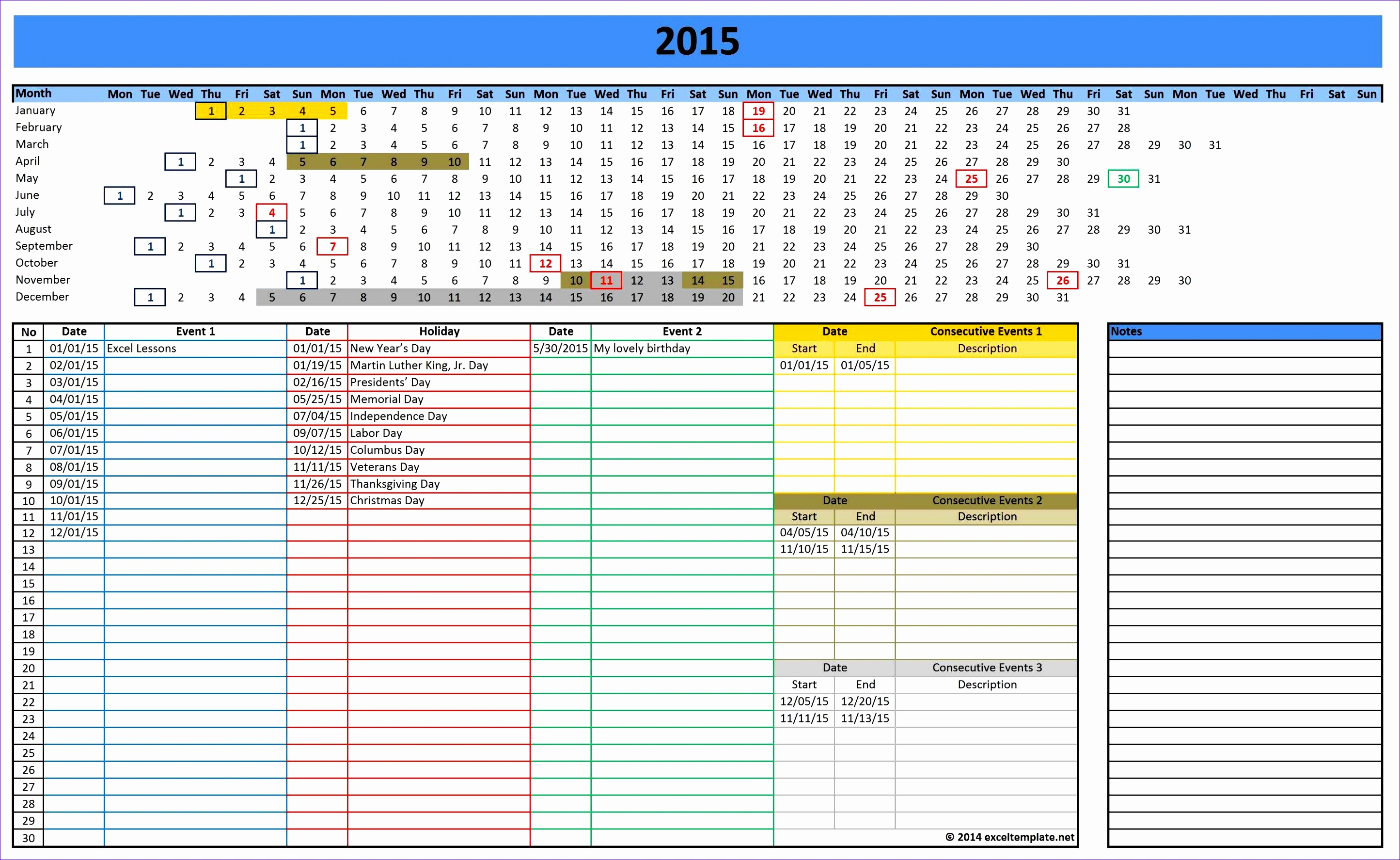 Excel Diary Template Filename | Istudyathes with regard to Excel Quarterly Calendar Template