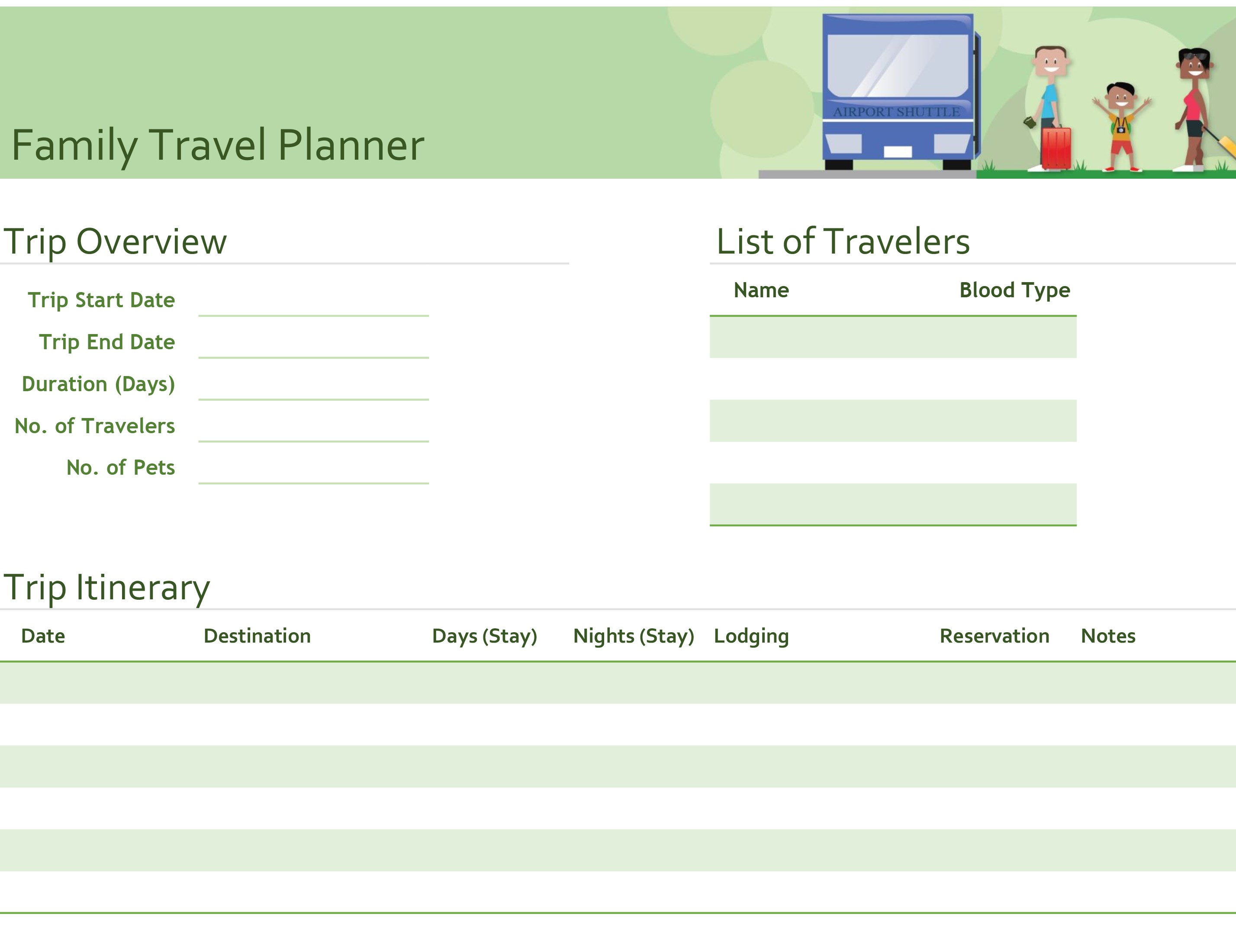 Excel inside Planning Date Night Checklist Template