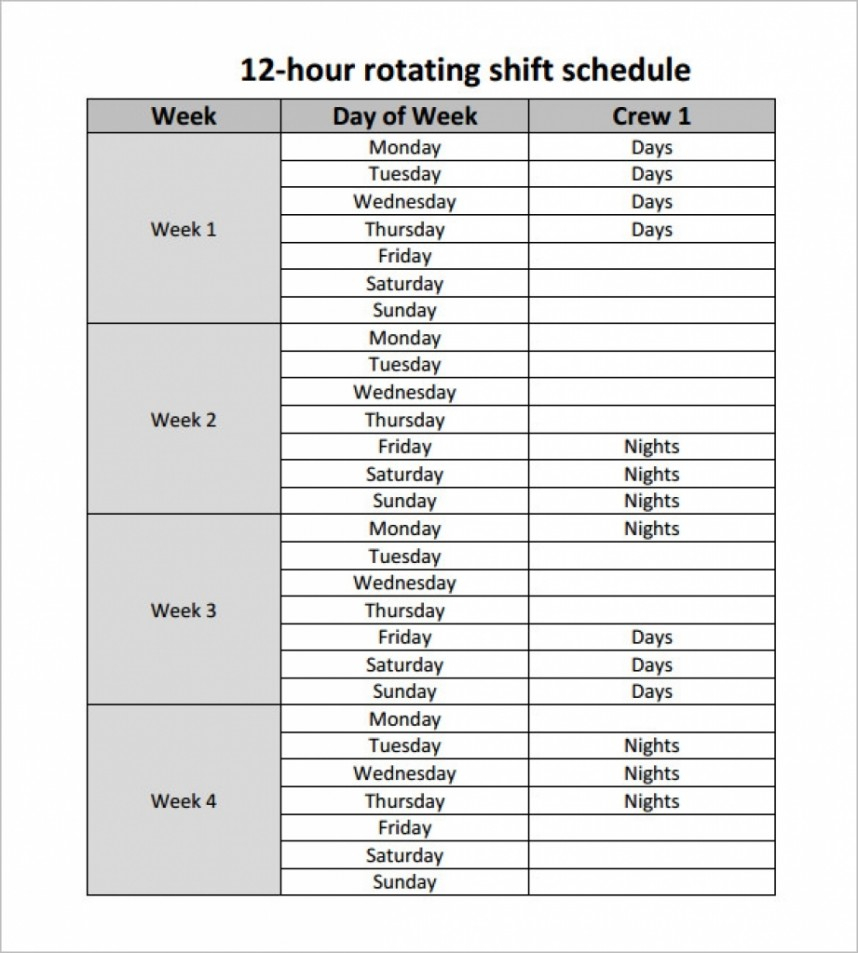 Fantastic 12 Hour Shift Schedule Template Ideas Dupont Excel in 12 Hour Shift Schedule Template