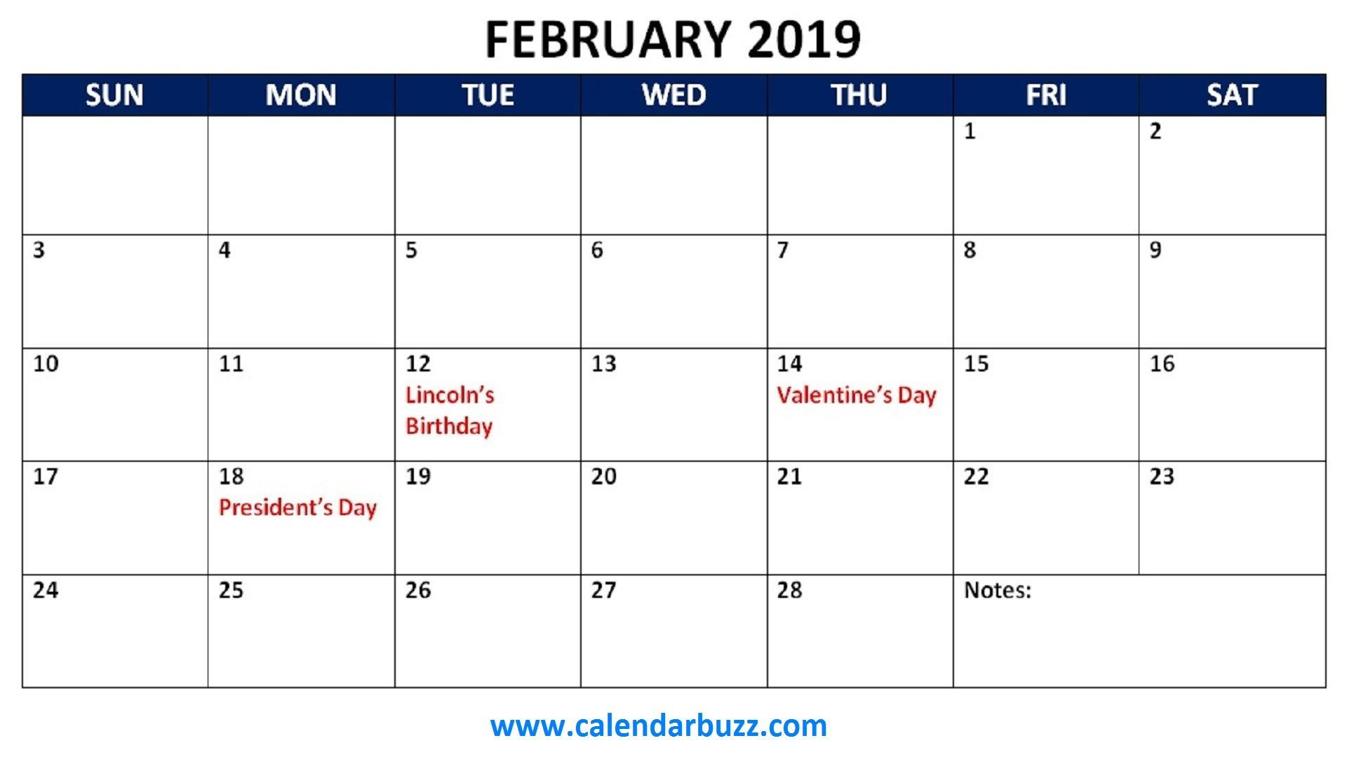 February 2019 Calendar Philippines With Holidays - Free Printable with Printable Template For Philippine Calendar