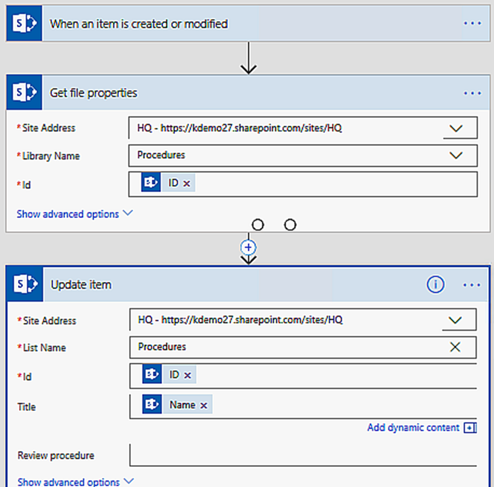 Flow That Updates Library Titles - A Sharepoint Flows Tutorial with Flow Template To Copy Dates From Sharepoint Calendars