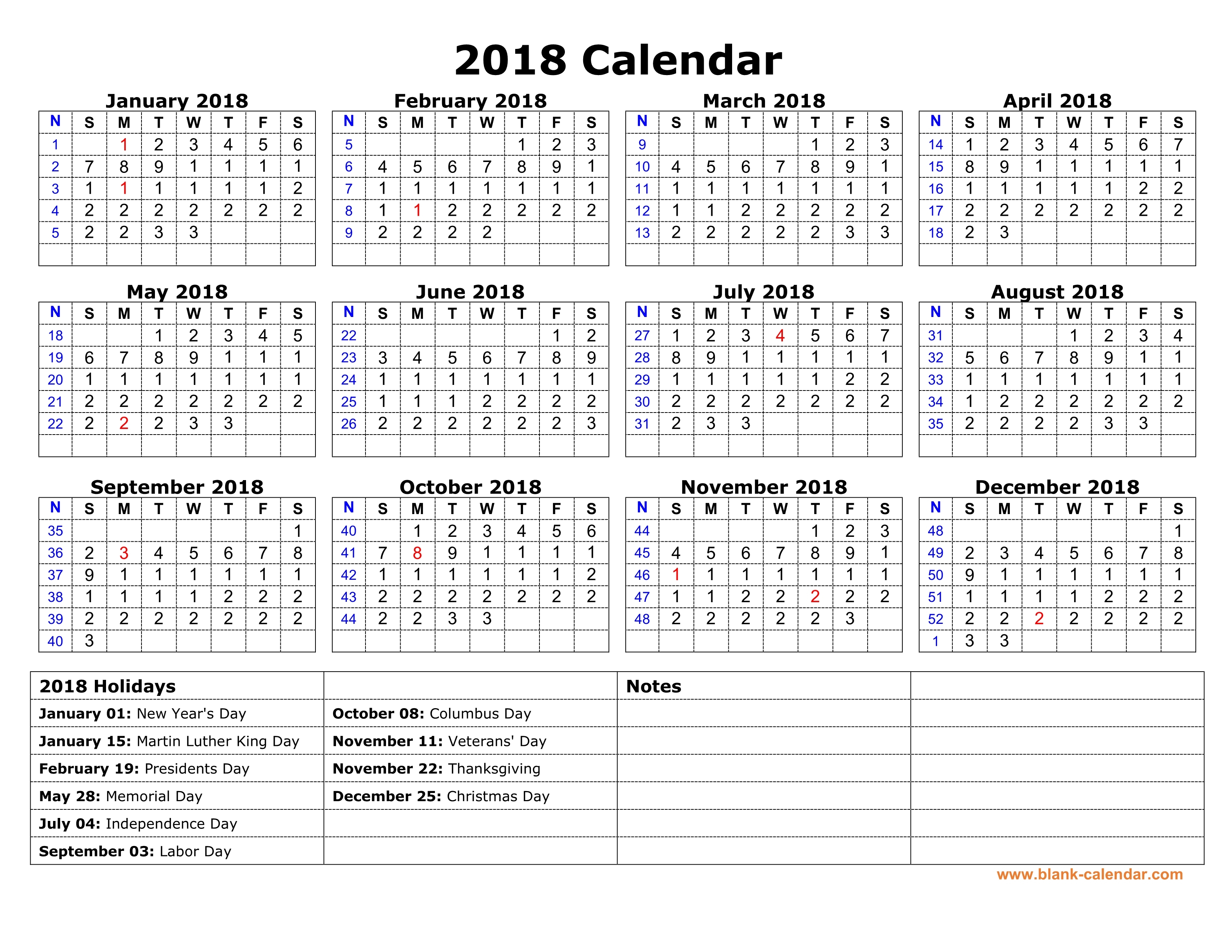 Free 2019 Printable Calendar Template 2 Colors I Heart Naptime | Isacl with regard to I Heart Naptime Calendar 2020