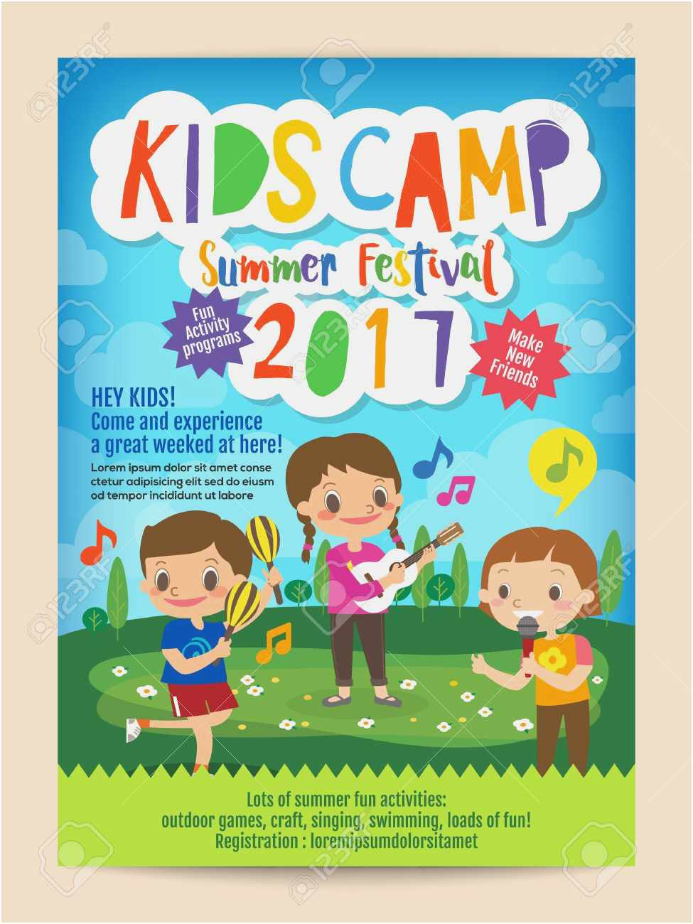 Free 50 Summer Camp Flyer Template Examples | Free Professional pertaining to Free Download Blank Summer Camp Application