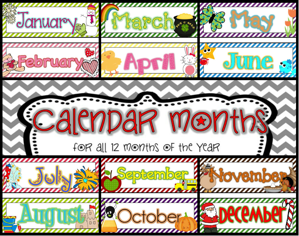 Free Calendar Headings Cliparts, Download Free Clip Art, Free Clip with regard to Monthly Calendar Template Clip Art