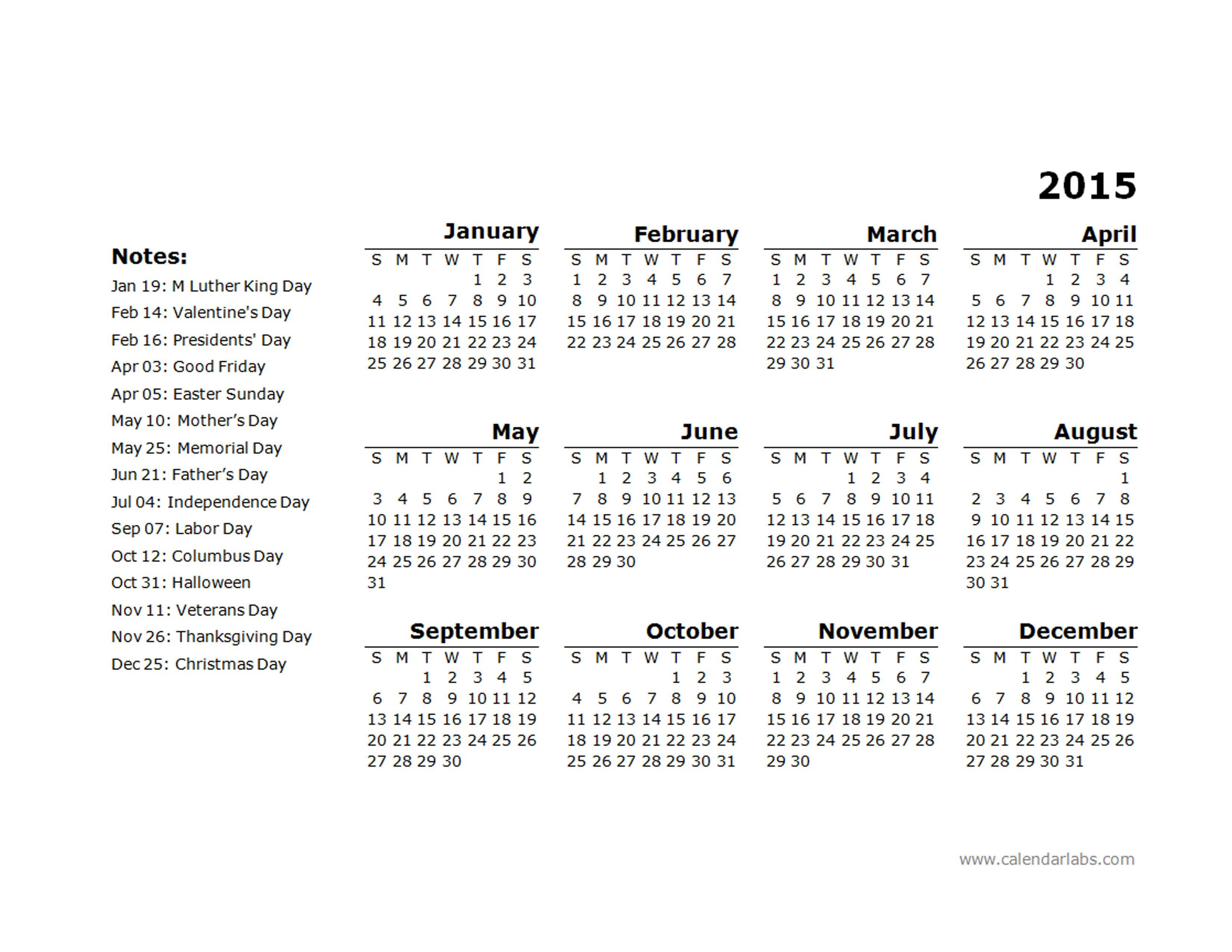 Free Calendar Templates 2015 South Africa | Free Blank Calendar for Christmas Calendar Printable Template