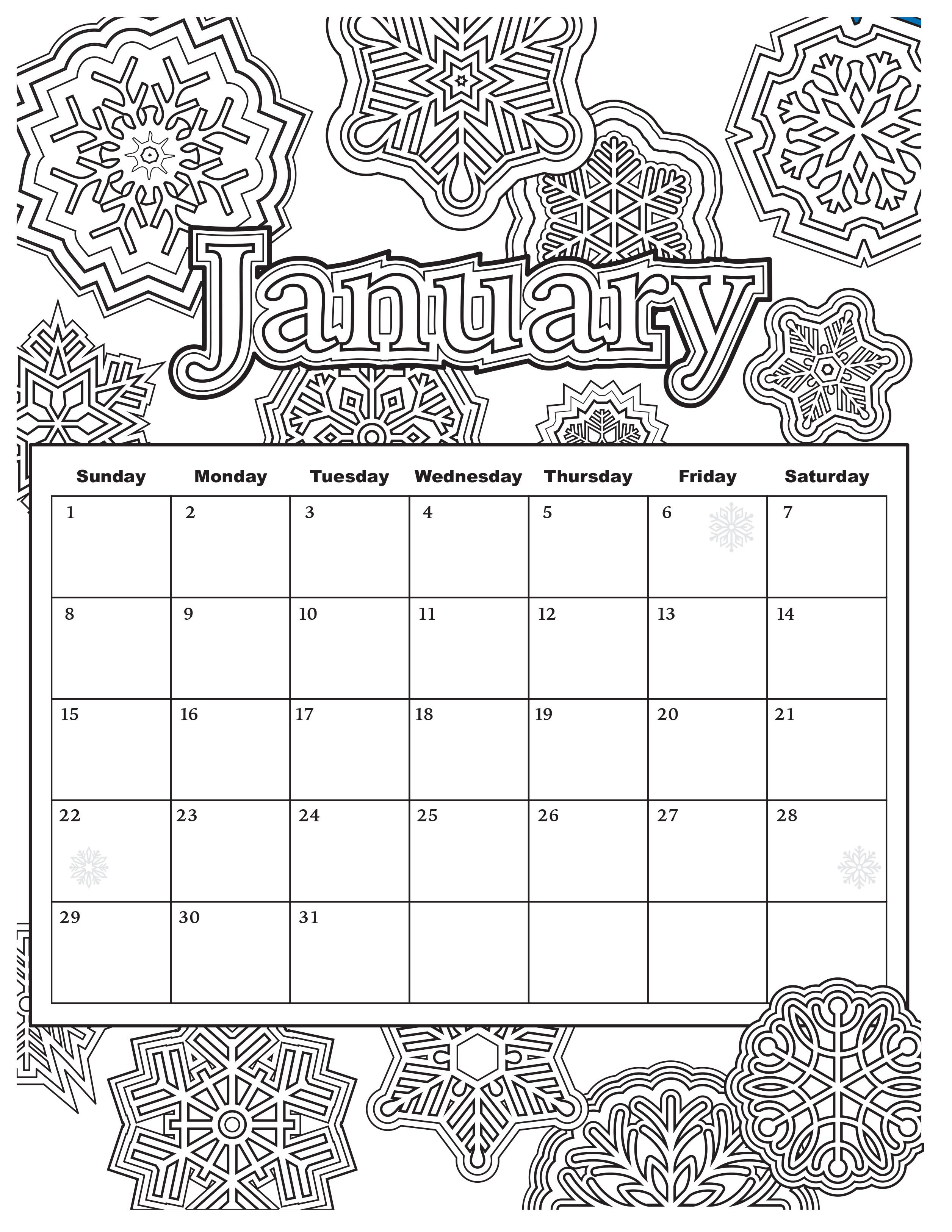 Free Download: Coloring Pages From Popular Adult Coloring Books intended for Coloring Pages October Calendar 2019 Adults