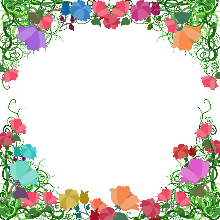 Free Free Printable Floral Borders And Frames, Download Free Clip intended for Frame Birthday Calendar Templates Free