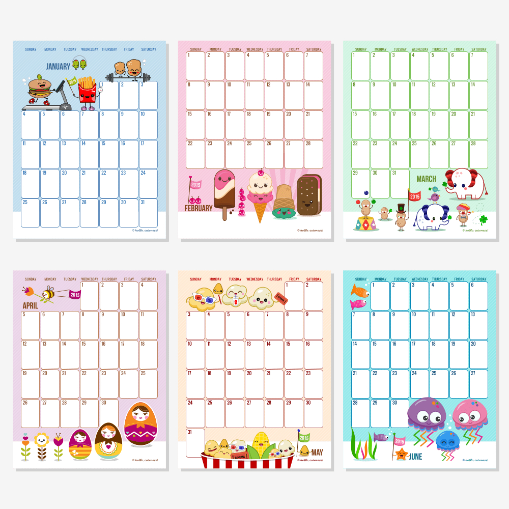 Free Monthly Calendars For 2014 | Calendar Templates For Mac Os X intended for Editable 2015 Monthly Calendar Template