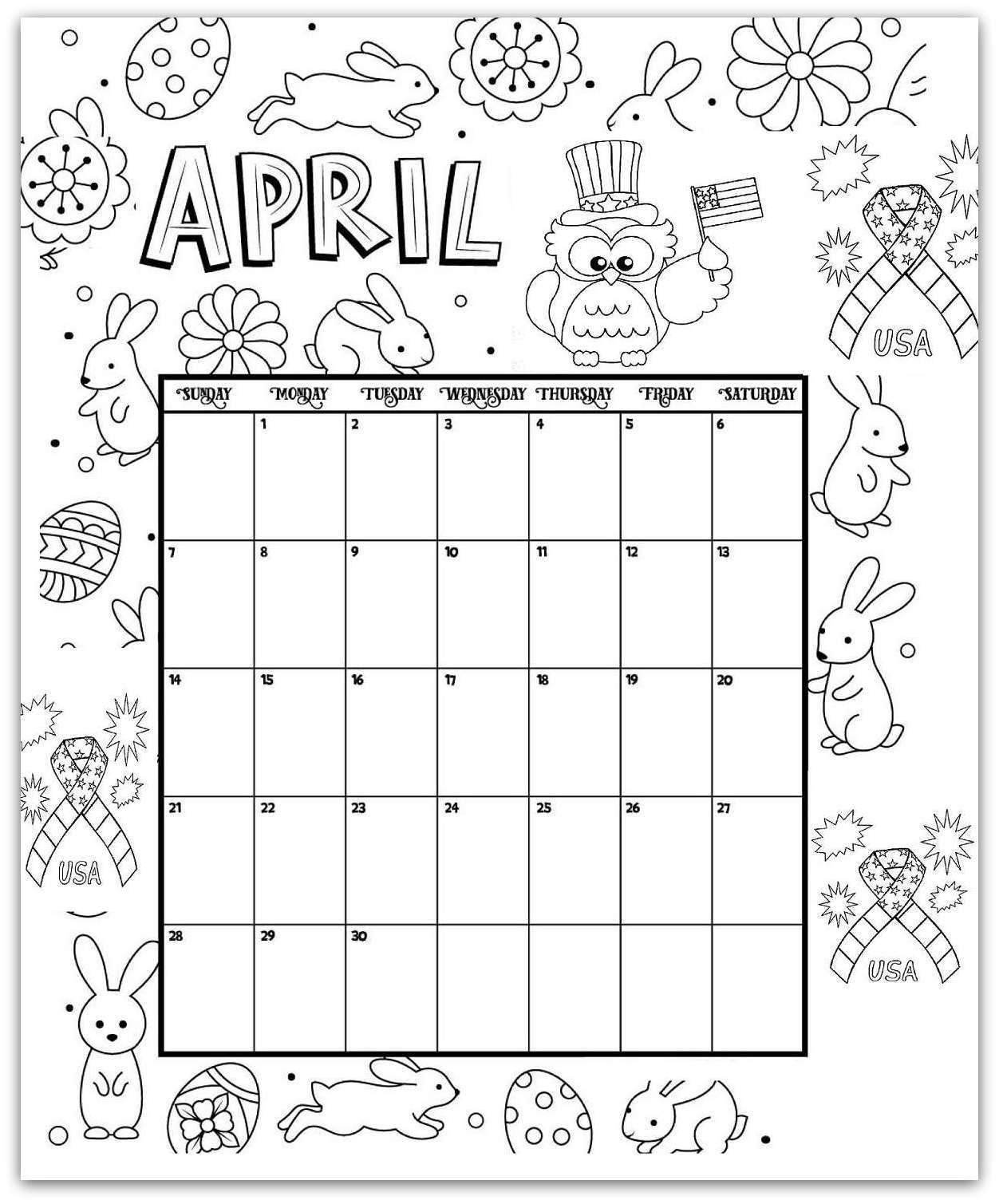 Free Printable Adult October Calendar 2019 Coloring Sheets regarding Free Printable Adult October Calendar 2019 Coloring Sheets