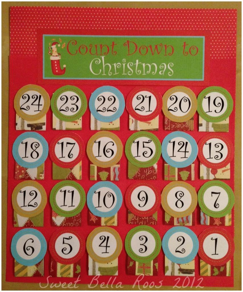 Free Printable Advent Calendar Template - Free Calendar Collection throughout Christmas Calendar Printable Template
