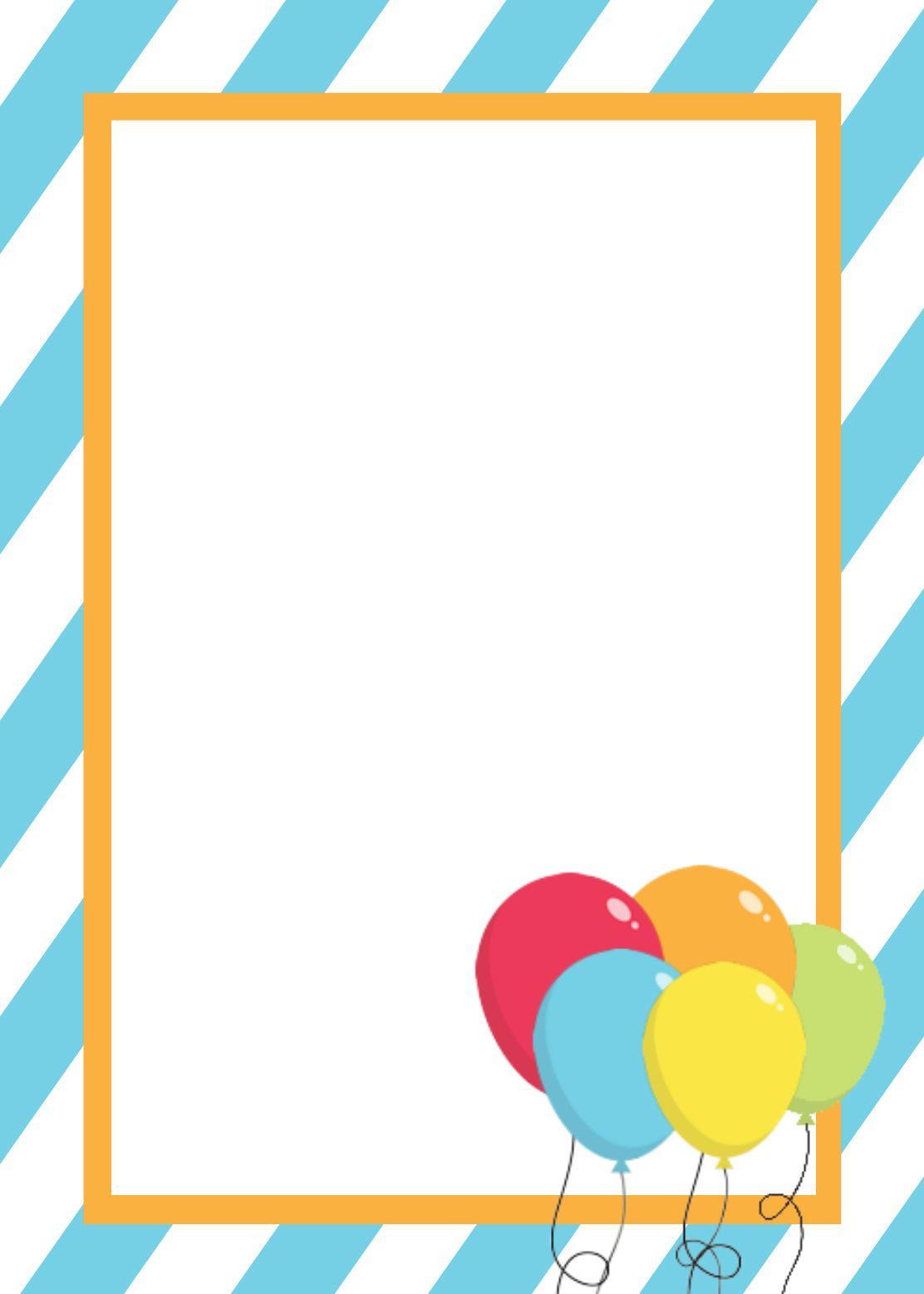 Free Printable Birthday Invitation Templates | Birthday Ideas And in Frame Birthday Calendar Templates Free