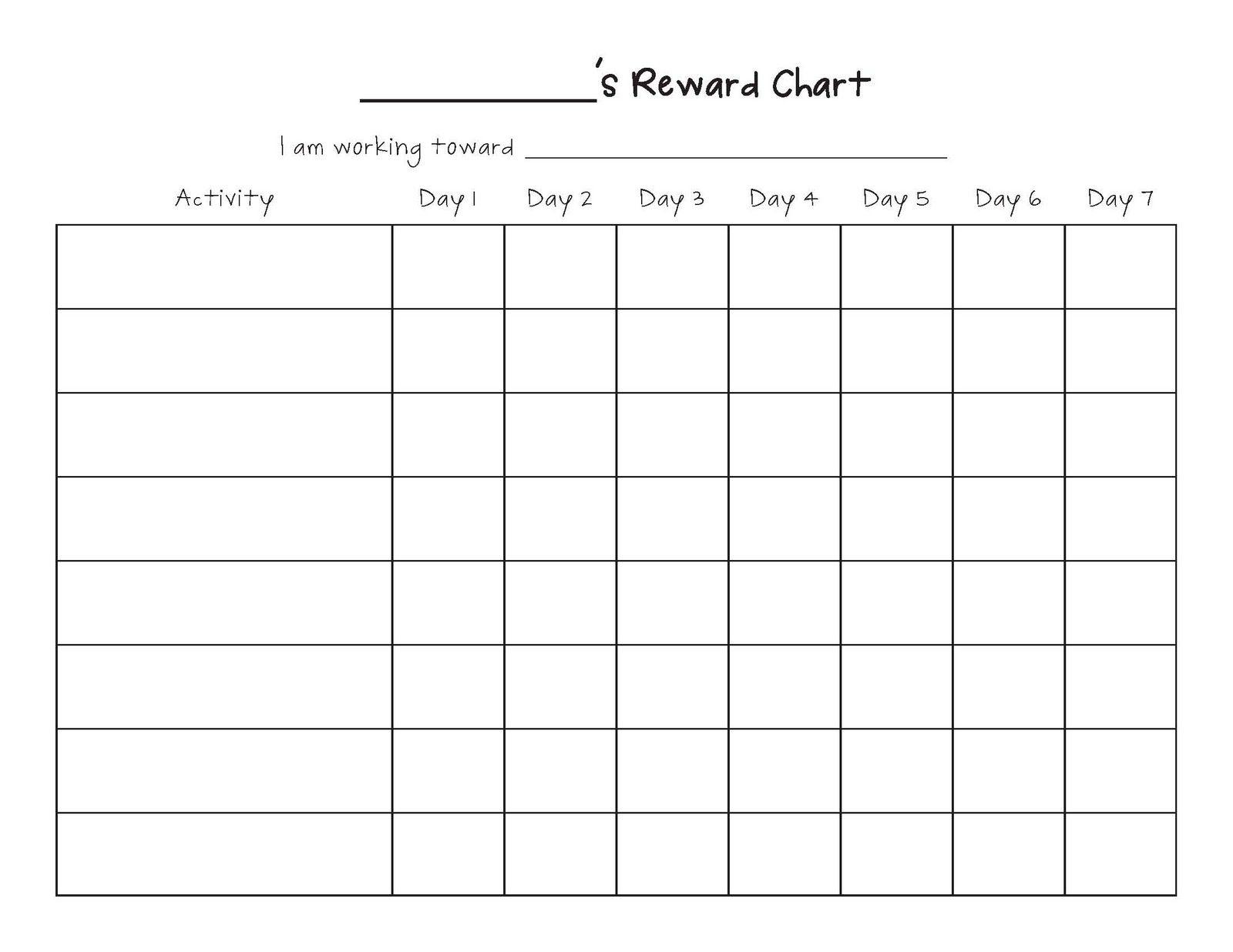 Free Printable Blank Charts | Printable Blank Charts Image Search with Free Printable Blank Behavior Charts
