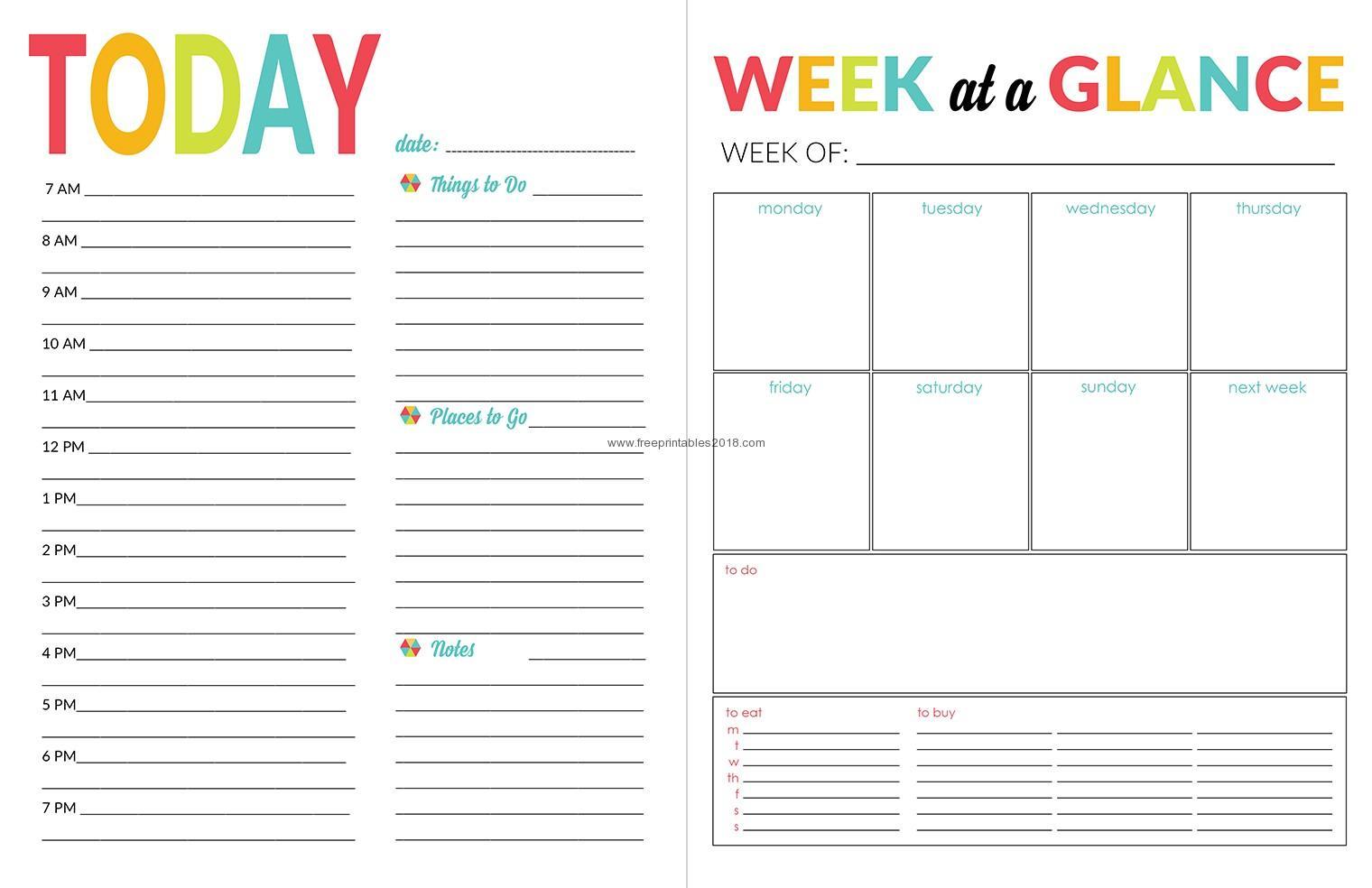 Free Printable Calendar Daily Printable Calendar Daily Planner Blank throughout Daily Planner Printable Calendar Templates