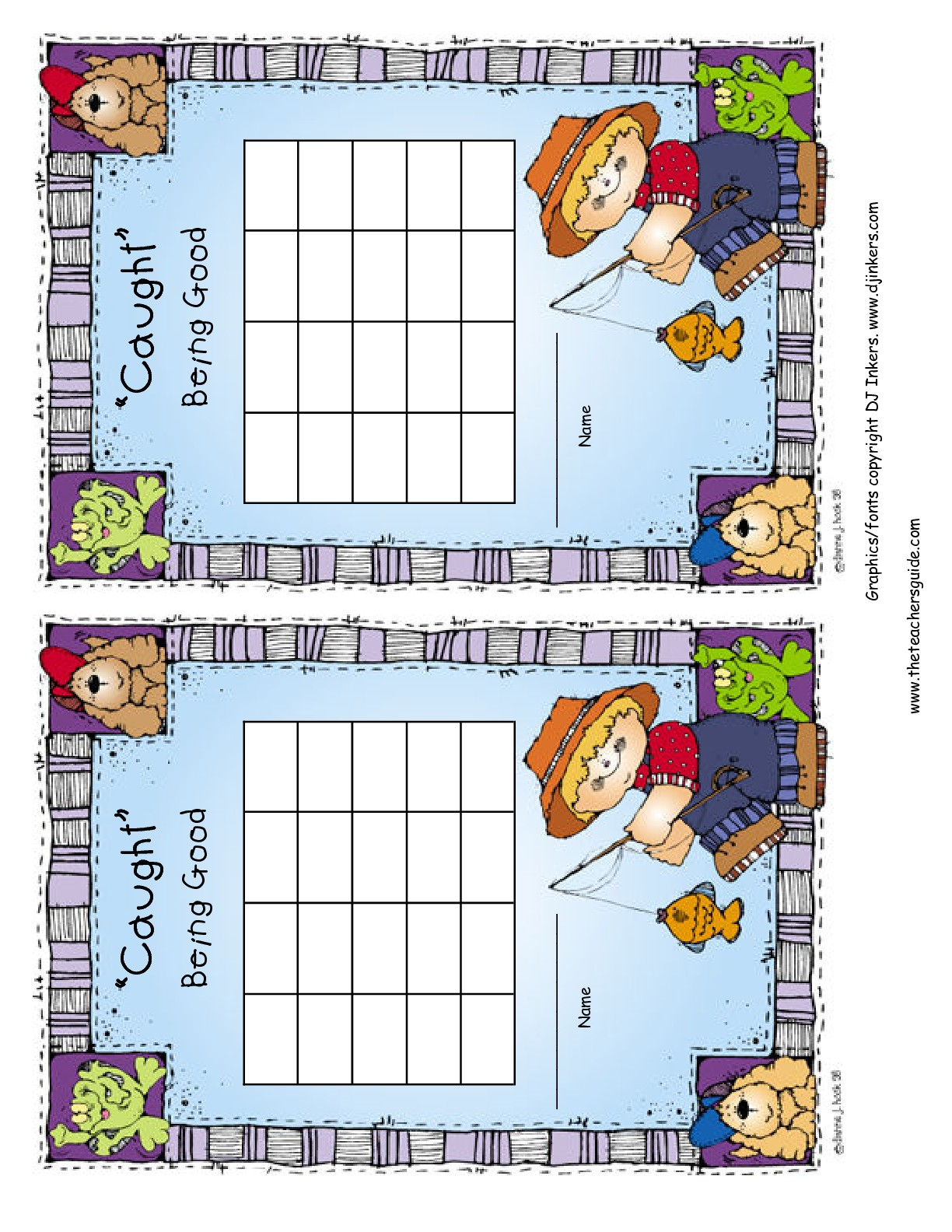 Free Printable Reward And Incentive Charts with regard to Behavior Charts For Kids Templates