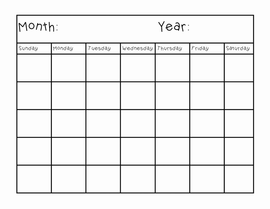Free Printable Weekly Calendar Then Blank Printable Calendar Pages intended for Blank Printable Calendar Pages