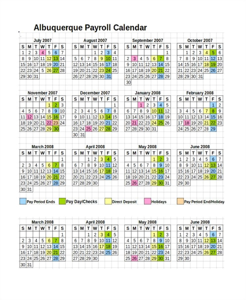 Fresh 35 Design 2019 Biweekly Payroll Calendar Template Excel intended for Biweekly Payroll Schedule Template