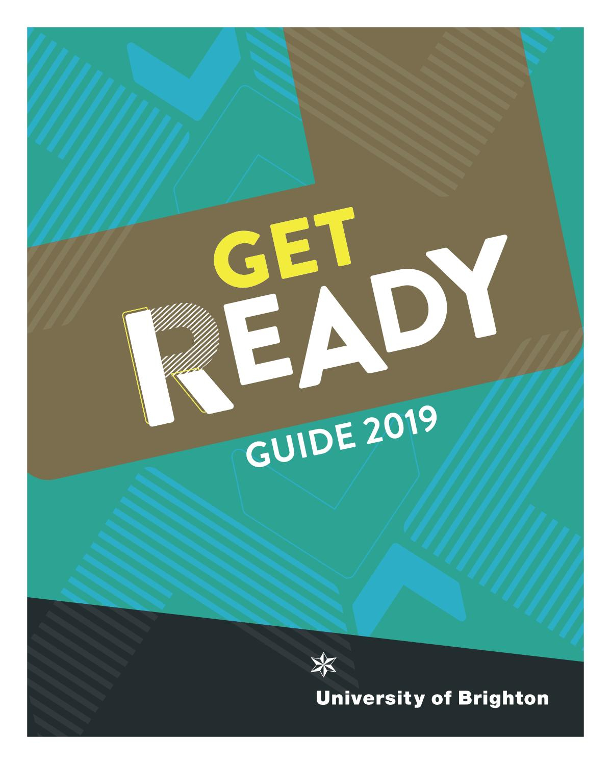 Get Ready Guide 2019University Of Brighton - Issuu with regard to Nus 2019-2020 Term Start Date