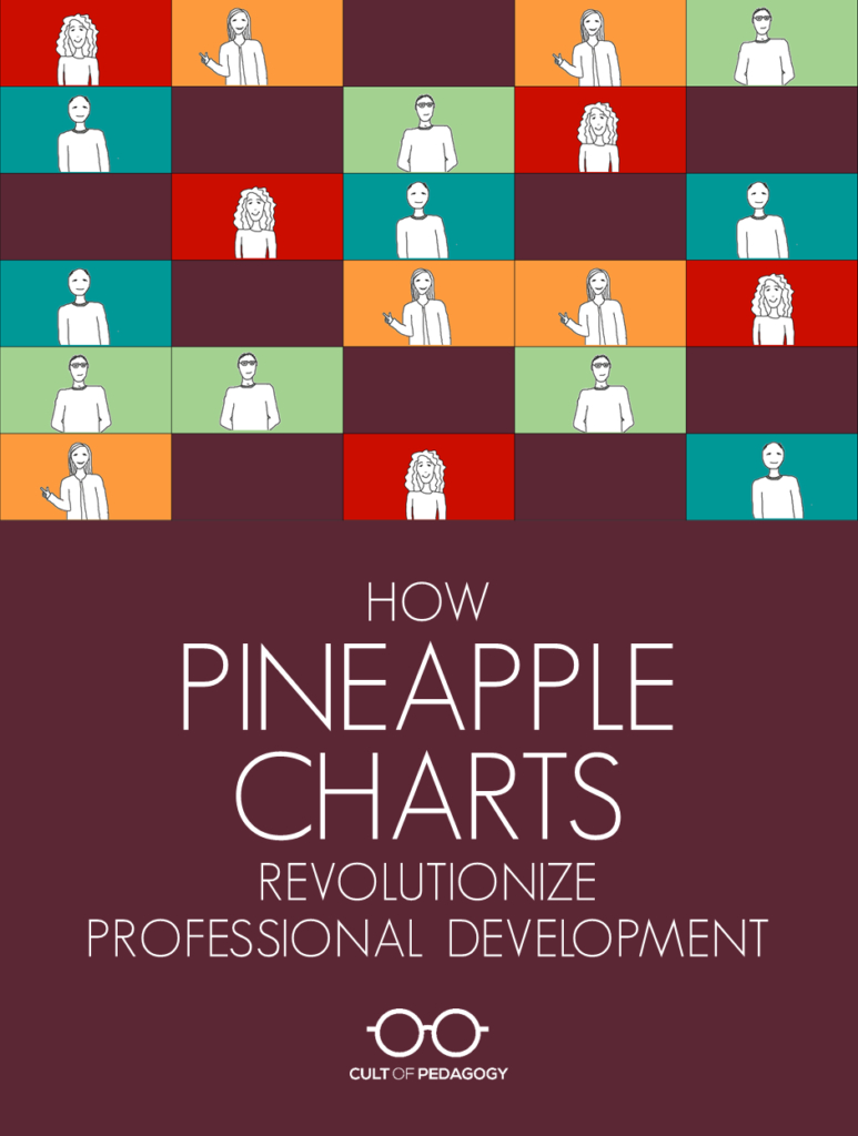 How Pineapple Charts Revolutionize Professional Development | Cult regarding Blank Calendar Chart For Classrooms