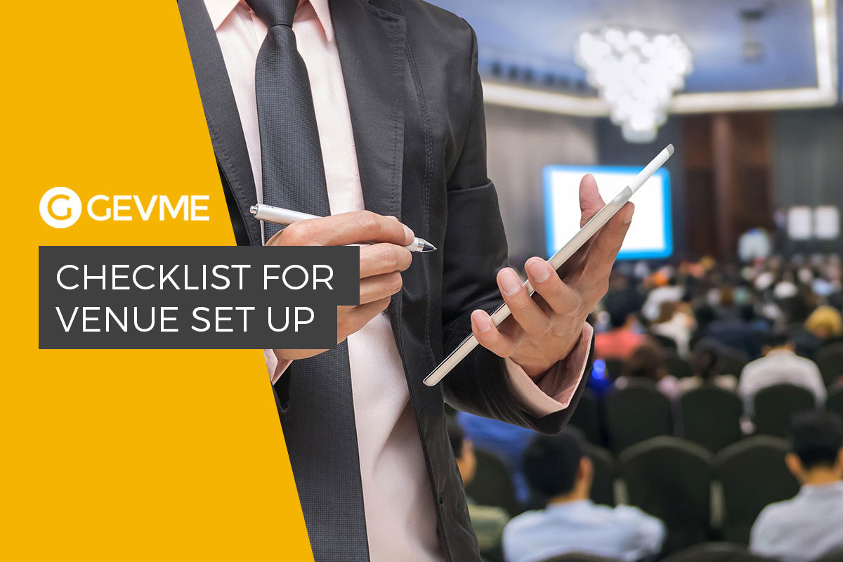 How To Prepare A Venue For An Event - Gevme Blog within Venue Stadium To Do Checklist Template