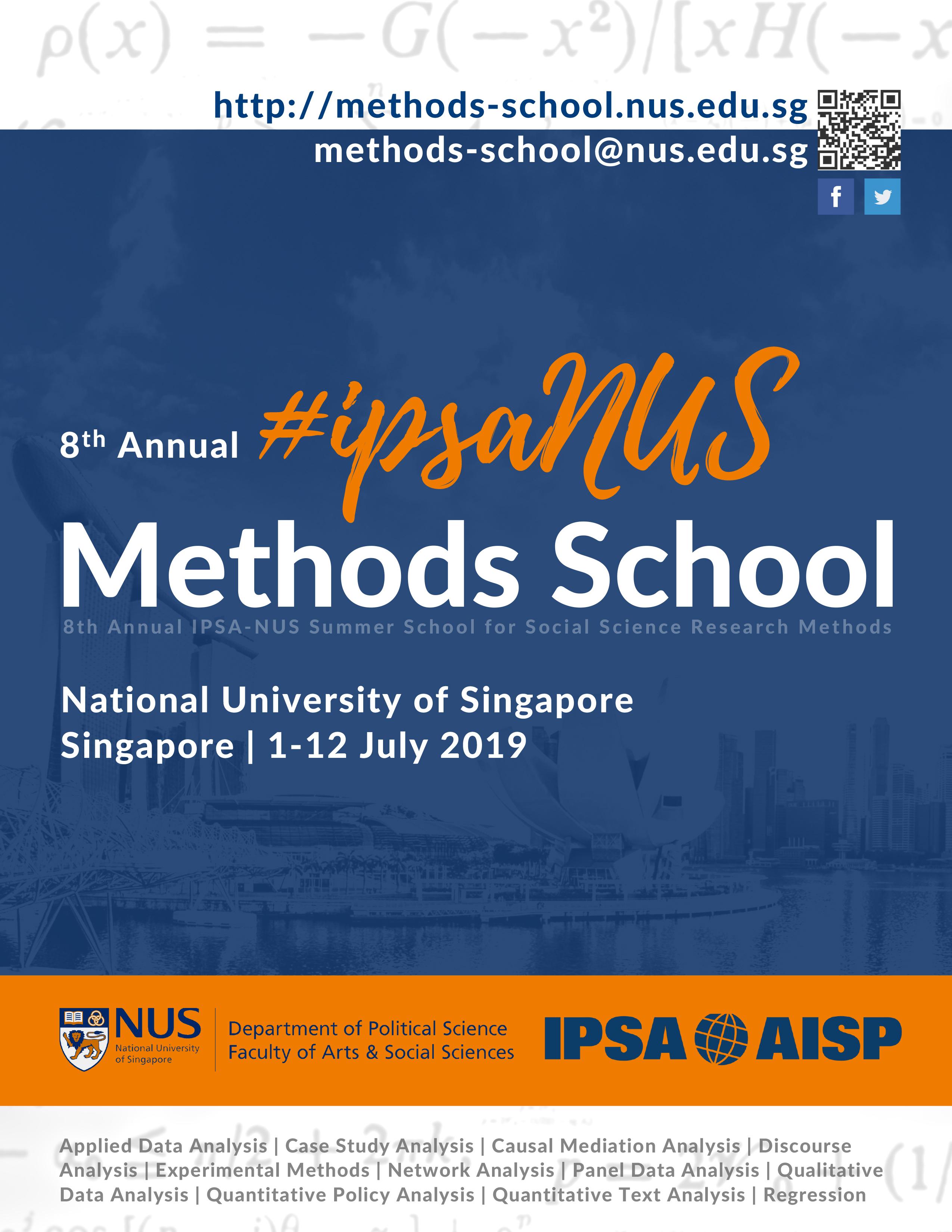 Ipsa-Nus Methods School with regard to Nus School Term 2019 2020