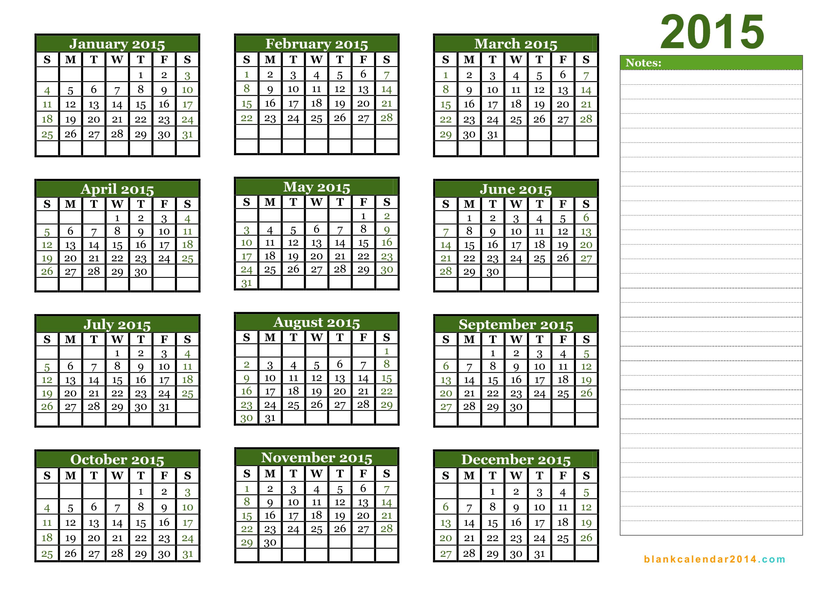 Julian Calendar 2015 | Printable 2017 Calendars with regard to 2014 12 Month Blank Calendar