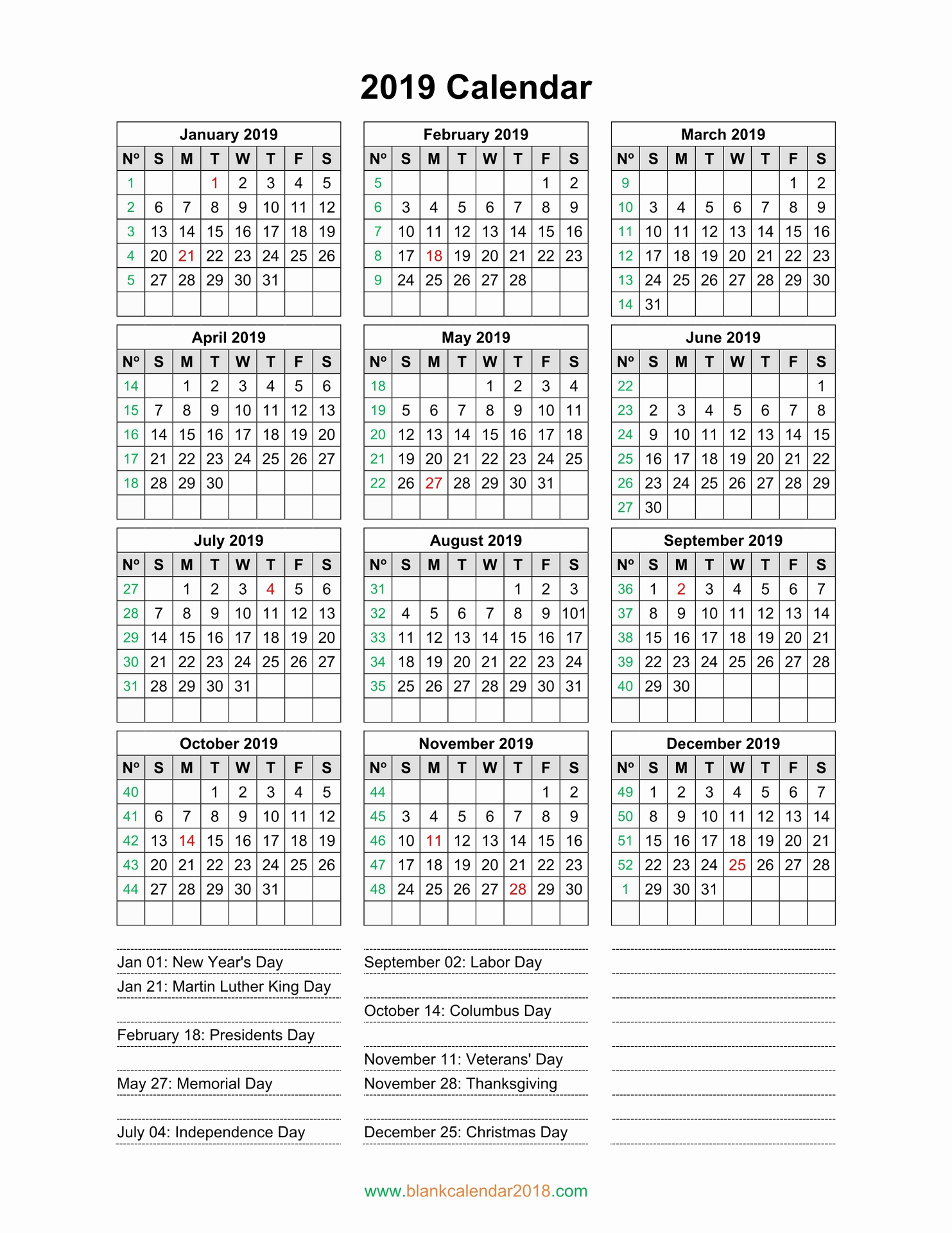 July 2019 June 2020 Planner | Free Calendar Templates in Free At A Glance Editable Calendar July 2019-June 2020